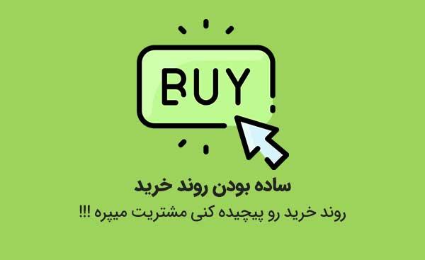 ساده بودن فرایند خرید یک راه برای جذب مشتری