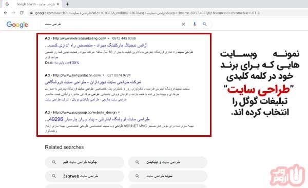 گوگل ادوردز-اروم وب
